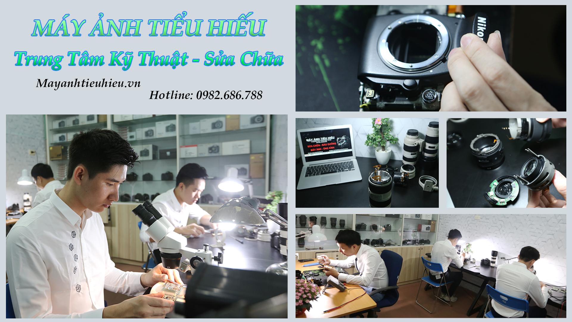Dịch vụ sửa chữa - Bảo dưỡng máy ảnh, ống kính