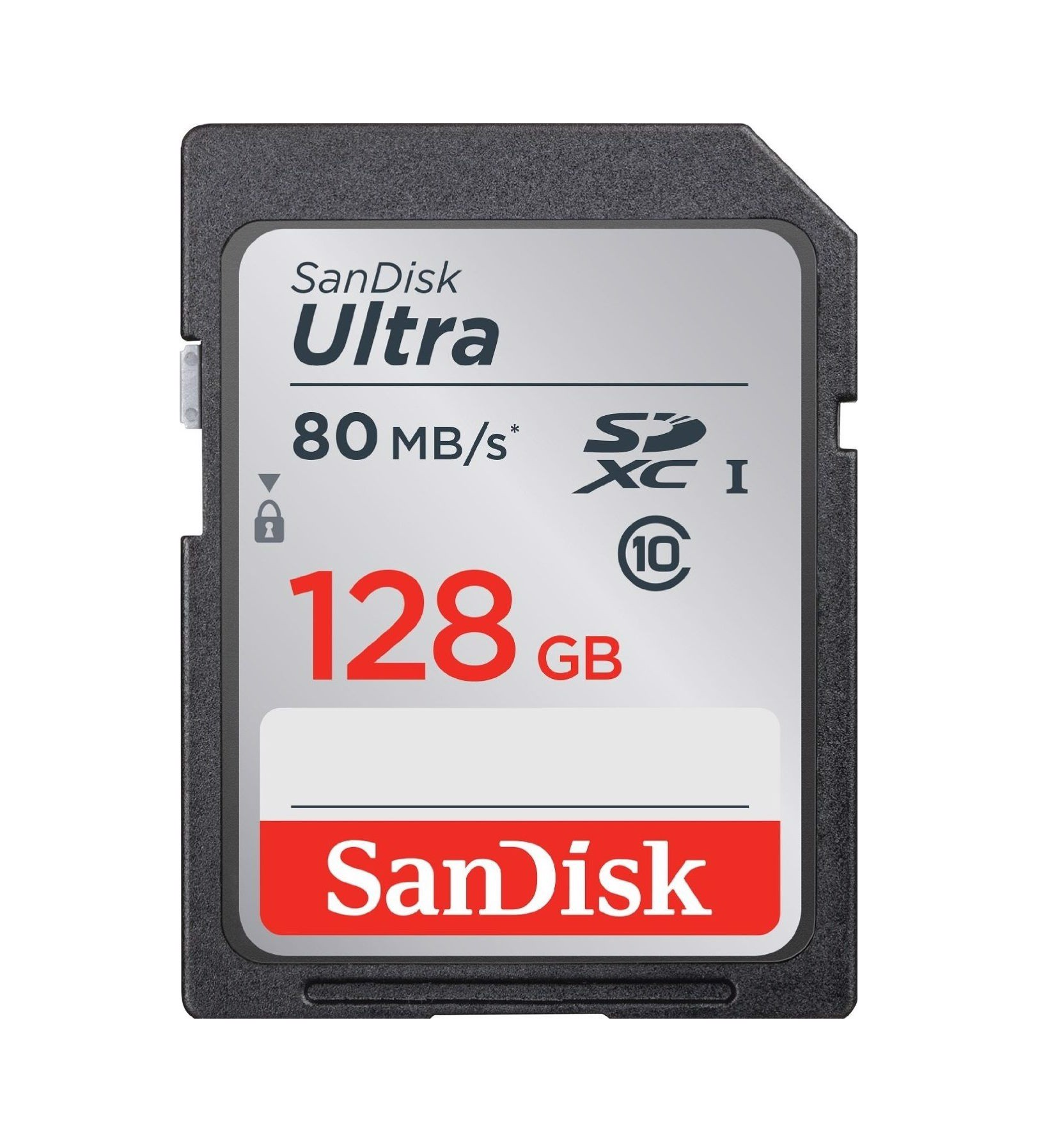 Thẻ Nhớ SD Sandisk 128GB 80MB/s