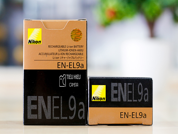 Pin Nikon EN - EL 9a