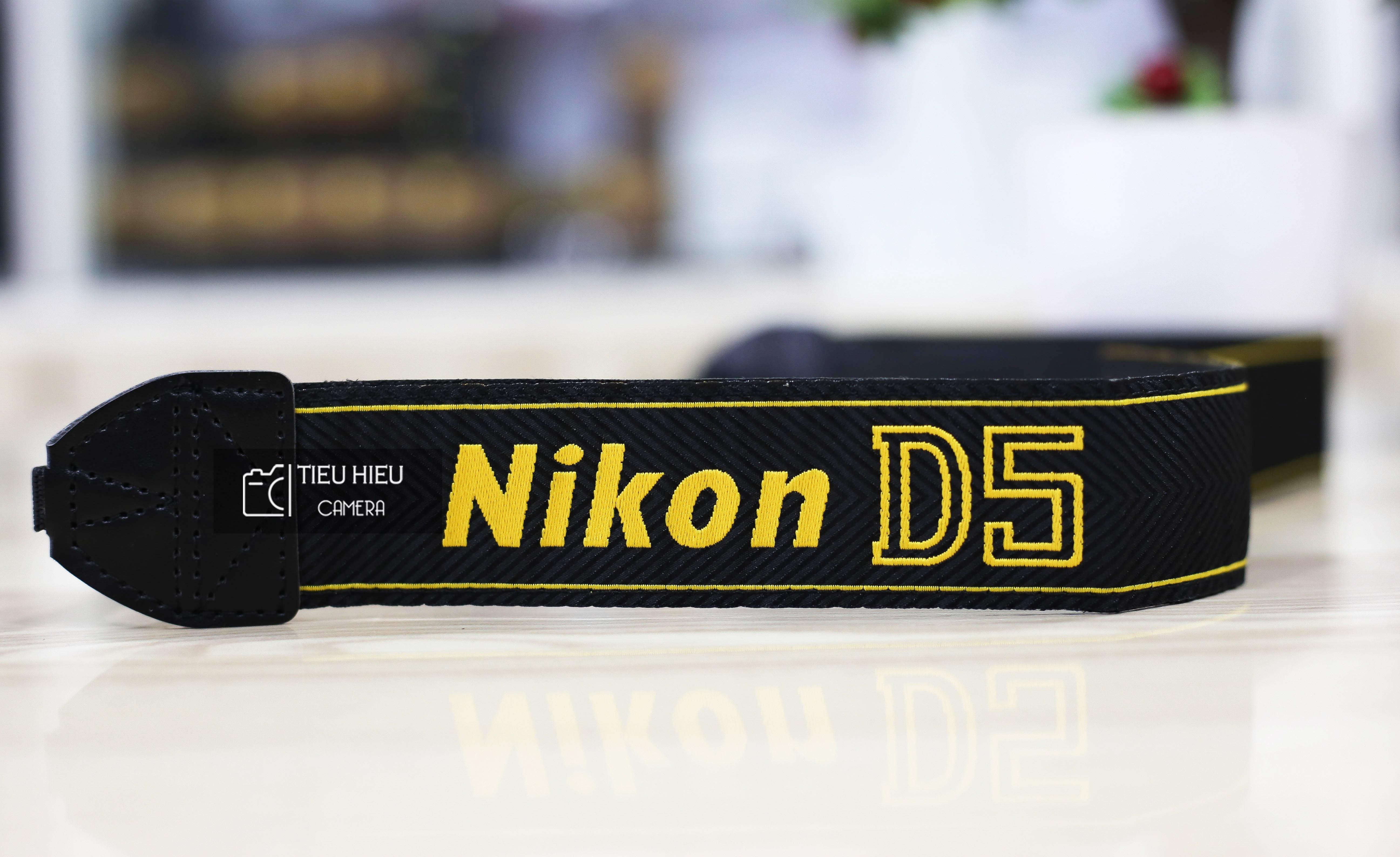 Dây đeo máy ảnh Nikon D5
