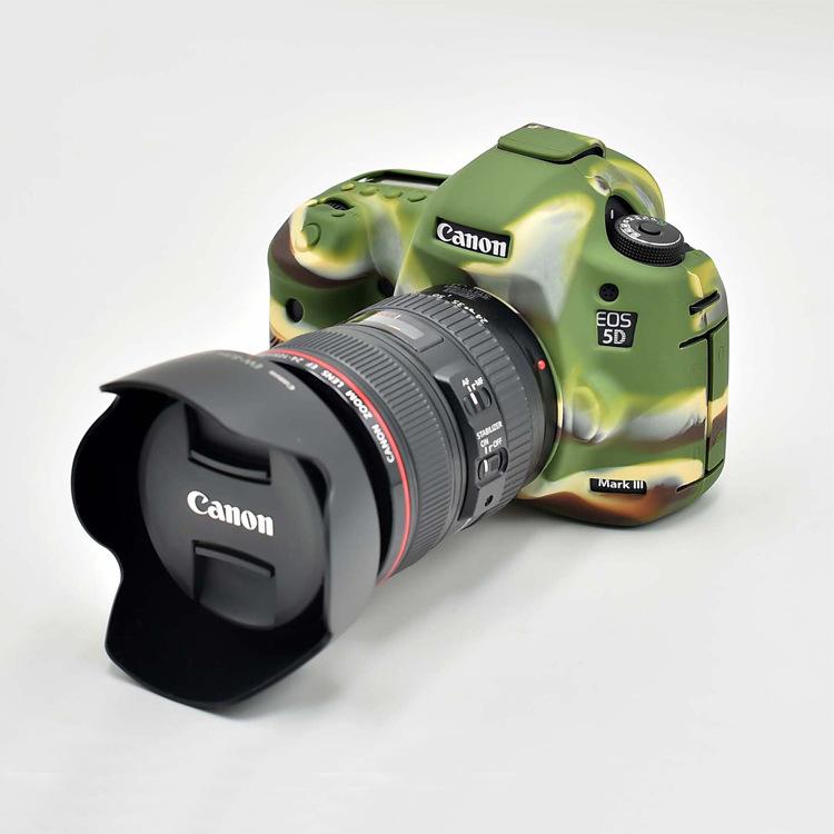 Bao Silicon Bảo Vệ Máy Ảnh Cho Canon 5D Mark III
