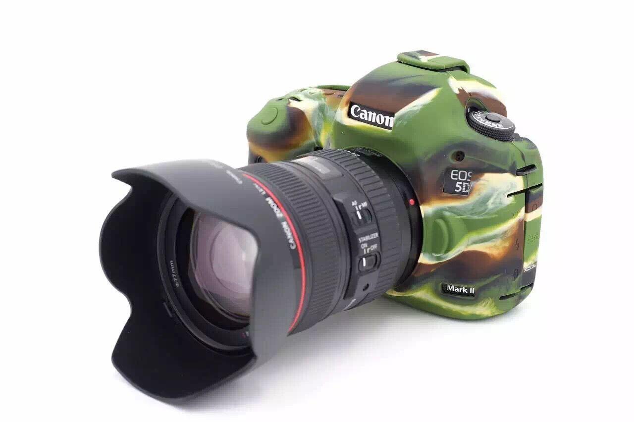 Bao Silicon Bảo Vệ Máy Ảnh Cho Canon 5D Mark II