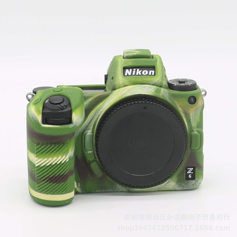Bao Silicon Bảo Vệ Máy Ảnh Cho Nikon Z6 / Z7