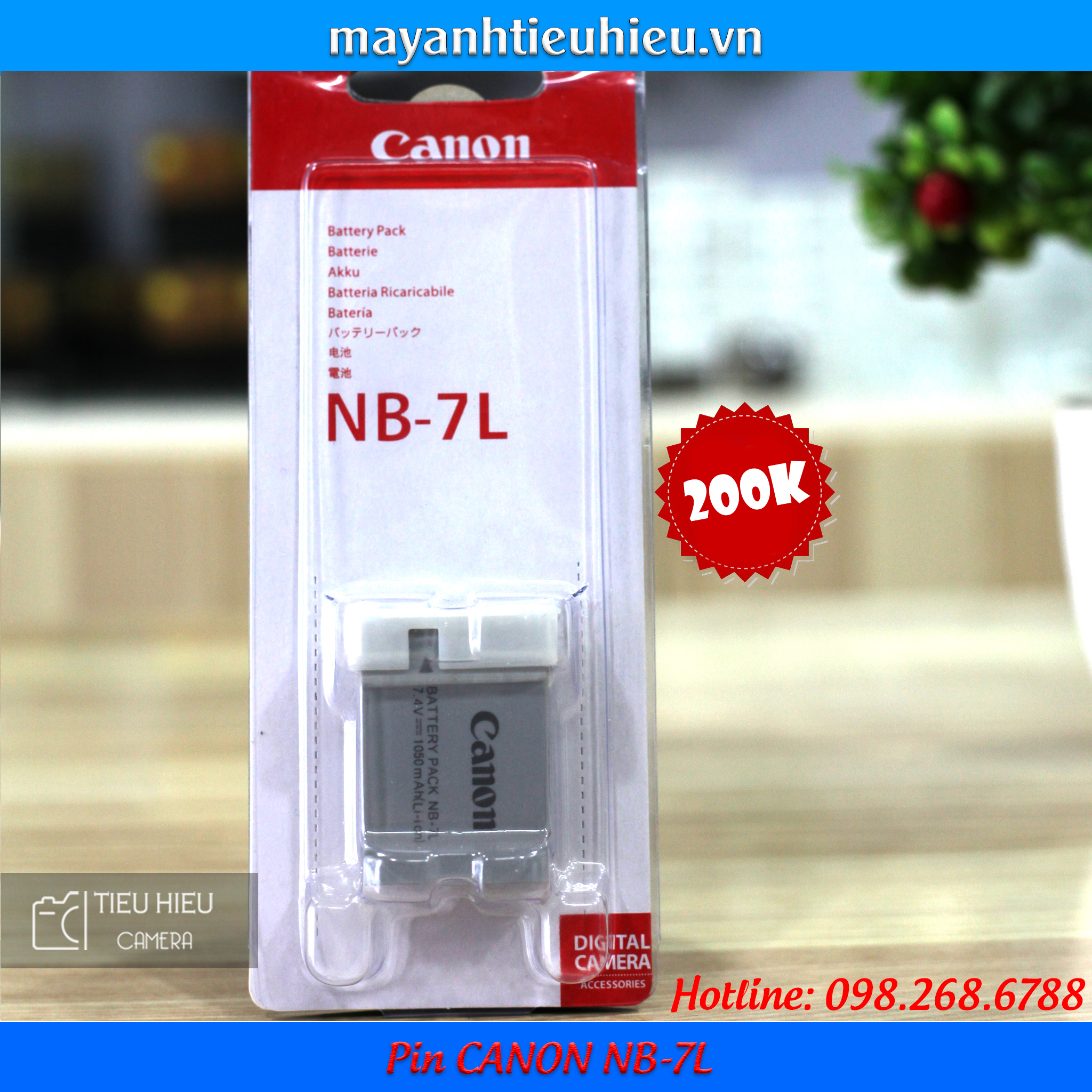 Pin Canon NB-7L