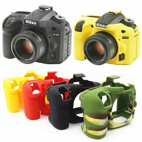 Bao Silicon Bảo Vệ Máy Ảnh Cho Nikon D7100/D7200