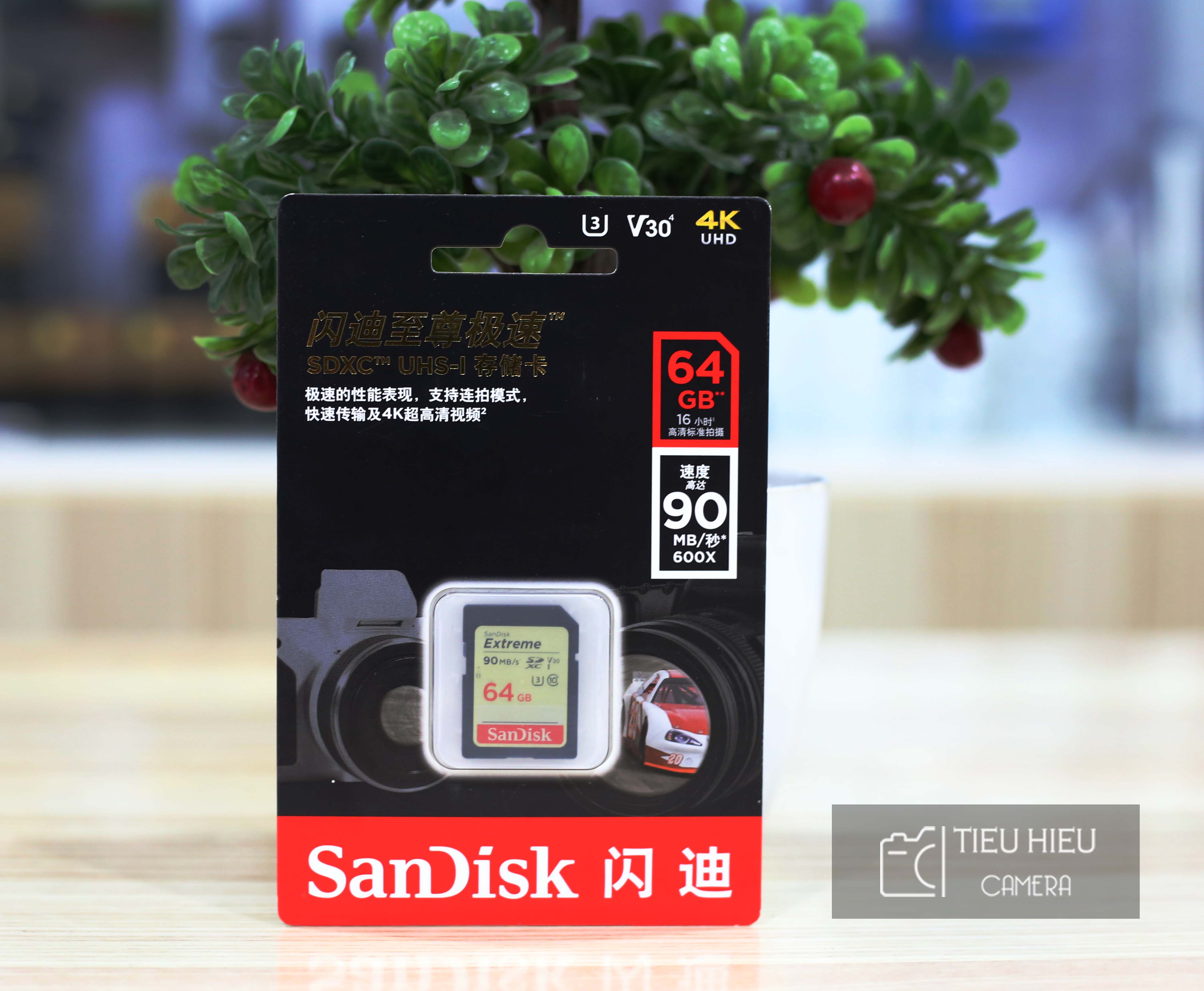 Thẻ SD Sandisk 64GB 90MB/s