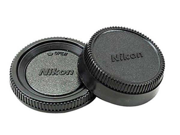 Bộ nắp Body và nắp sau lens Nikon