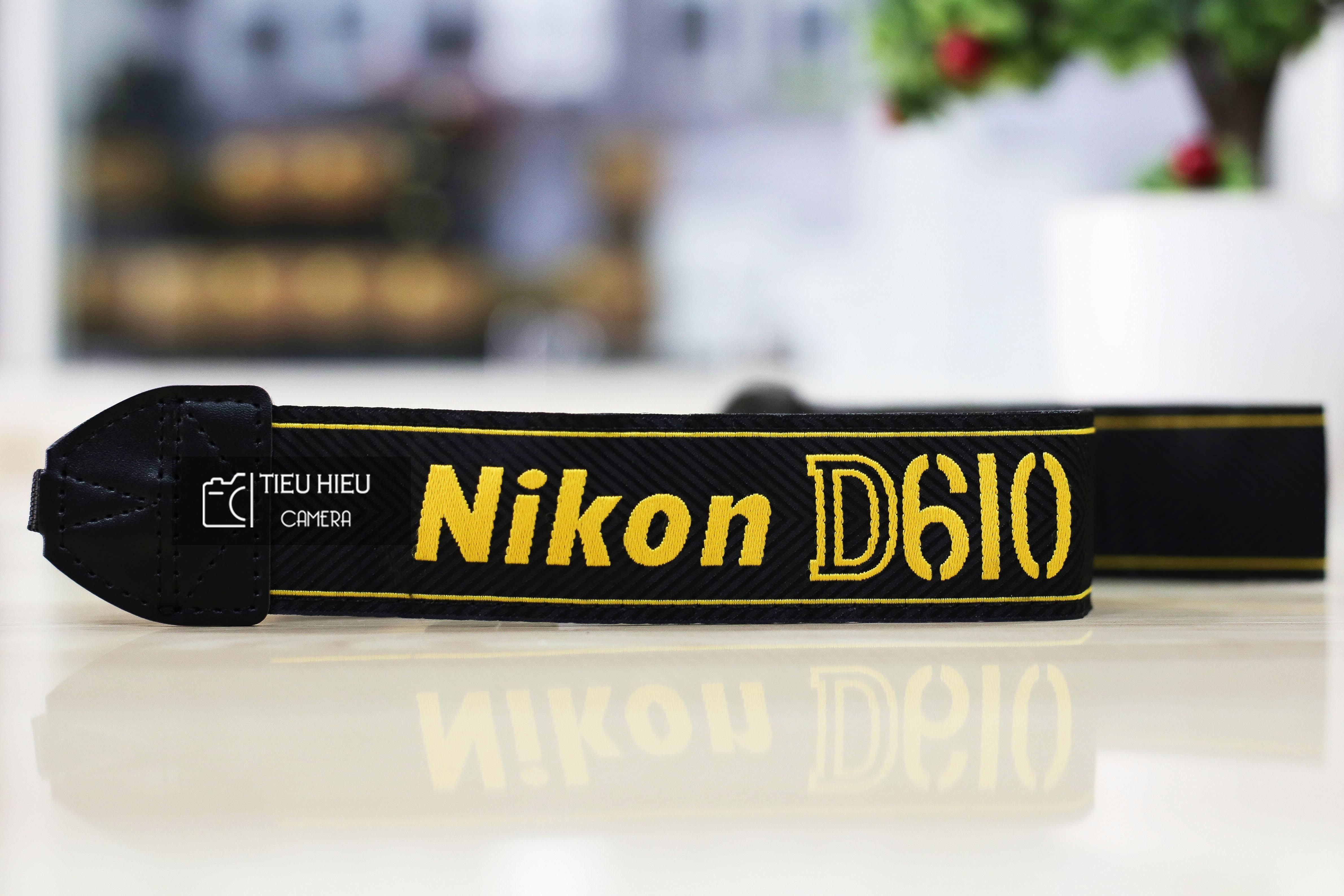 Dây đeo máy ảnh Nikon D610