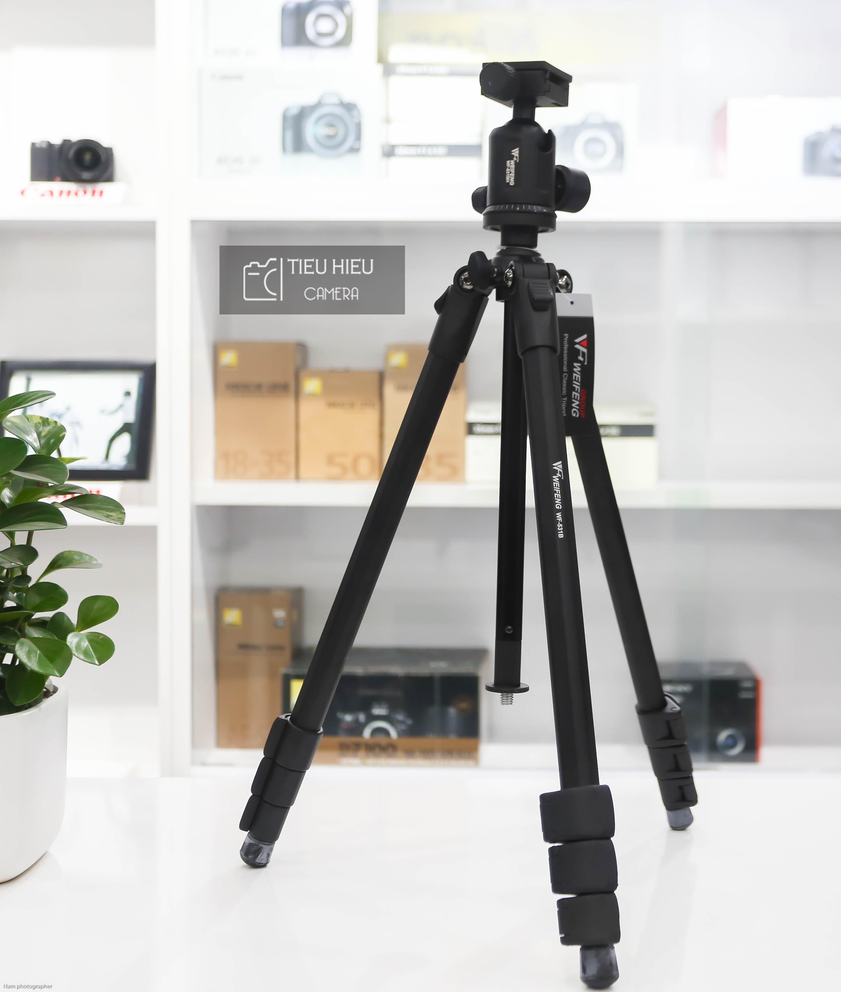 Chân máy ảnh WeiFeng - WF531B